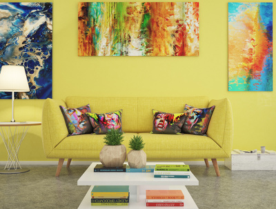 Make an interior scene of your project