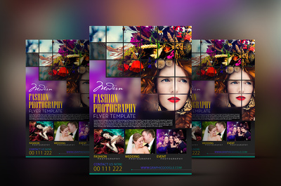 Design awesom and eye catching flyer with unlimited revision