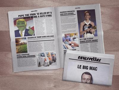 Magazine & newspaper design