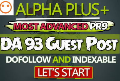 Publish guest post on DA 93, PR9 Website - Dofollow and indexable links