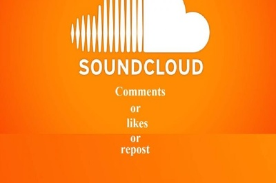 Manually high quality 150 real USA soundcloud comments or repost or likes