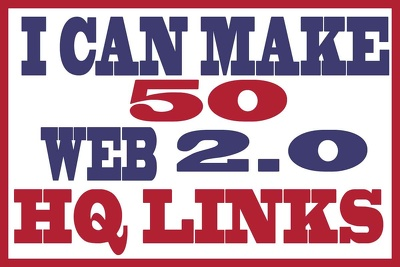 Make 50 WEB 2 0 Blog Of Highest Quality Links