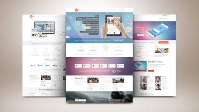Design a Professional 5-6 Pages Website in WordPress