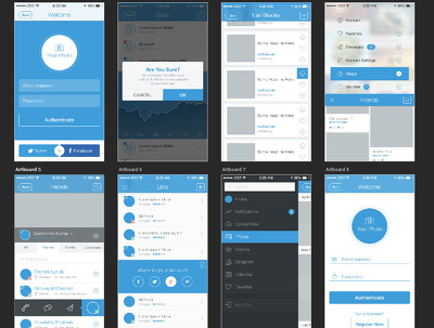 Design professional mobile app UI/UX for Android / iOS with Prototype