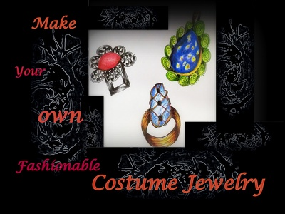 Design Fashionable Costume jewelry with Semi Precious Stones