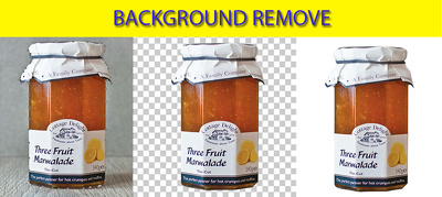 Background remove 20  image with clipping path by pen tool