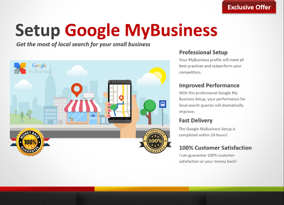 Create and optimize Google MyBusiness Profile