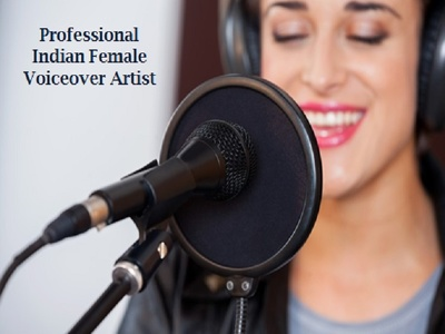 Record Studio Quality English and Hindi Voice Over In Indian Accent in Just 2 days