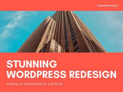 Provide 1 hour of updates/ customizations to your wordpress based website