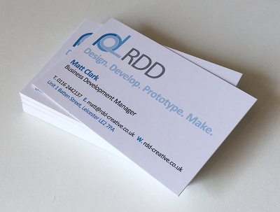 Create a business card, headed paper and compliments slip
