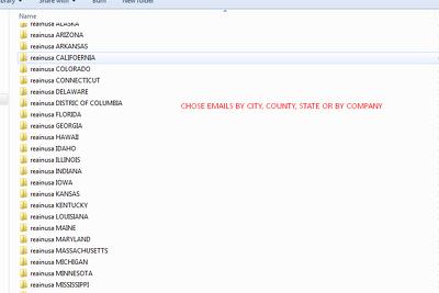 Find 5k emails of real estate agents
