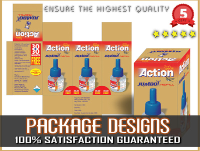Design Professional Package And Label / UNLIMITED REVISION