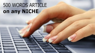 Write original and authentic 500 words SEO articles, blog posts, web contents, etc.