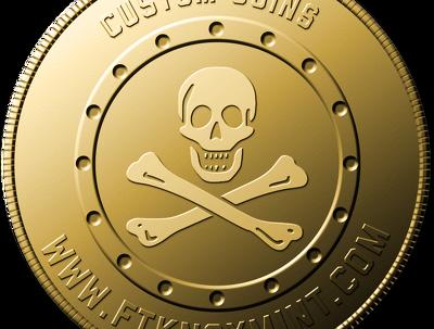 Make a Unique Golden Coin design for you or your logo