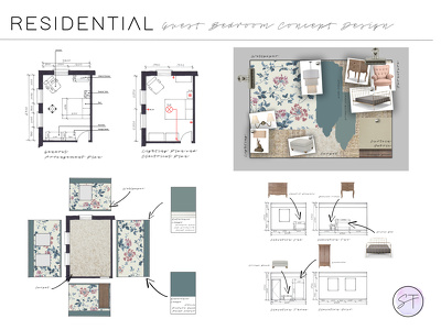 Offer mood boards for a new design scheme for any room.