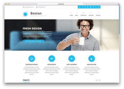 Create a fully working wordpress website for you