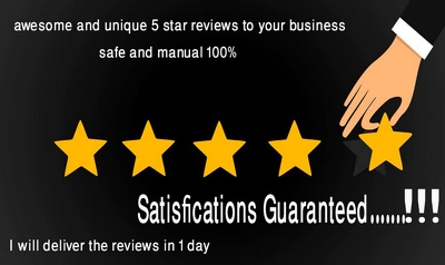 Published 10 Awesome 5 star Reviews for your business