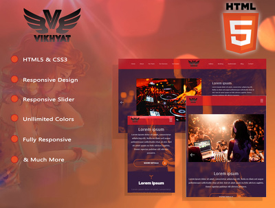 Design & develop mobile responsive, SEO friendly Wordpress CMS website