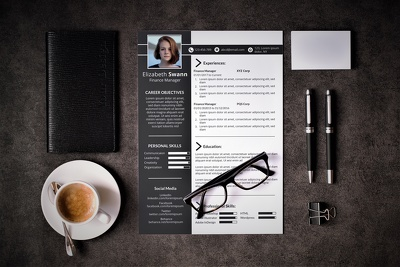Design a Professional Resume or CV for you to Stand Out