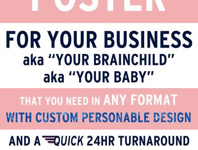 Design a flier/poster