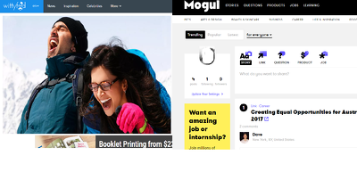 Write and Publish Guest Post in Onmogul.com & Wittyfeed.com Two Dofollow Backlink