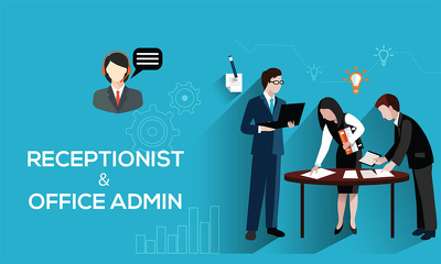 provide 2 hours of office admin