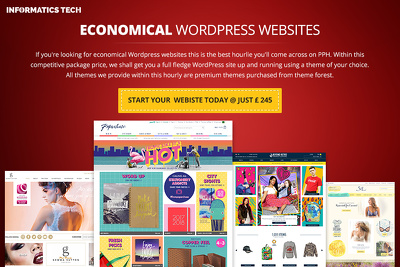 Design and develop a professional WordPress website and WordPress theme