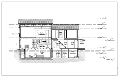 Provide UK Building Regulation drawings for Rear and/or Side Extension