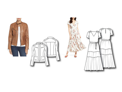 Create professional technical fashion sketches allowing your ideas to come to life