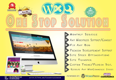 One Stop Solution for WordPress & WooCommerce Problems