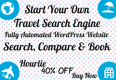 Create an wordpress affiliate flights & hotels search engine website
