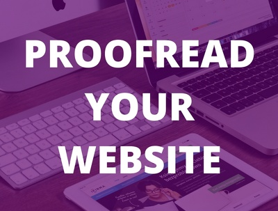 Proofread your website copy (up to 5,000 words)