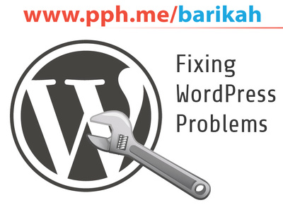 Fix Wordpress Errors, Html, css issues and Customize Theme