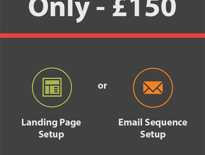 Setup 1 Landing Page or Email Campaign Sequence For You