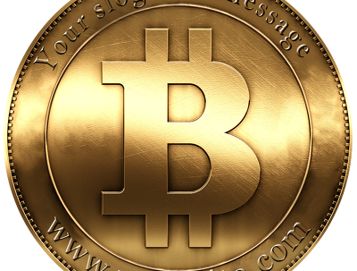 Put your Site, slogan or message on Bitcoin design