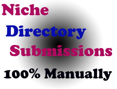 Do 50 Niche Directories Submissions Manually