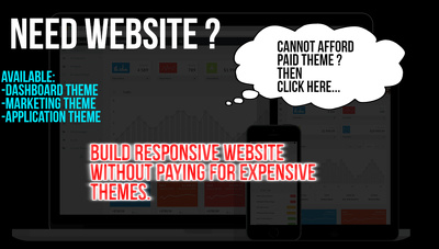 Create Your Website With 99 Dollars Worth Paid Themes