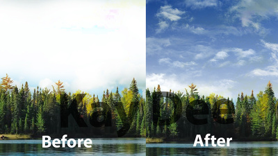 Do Professional Sky Replacement In 10 Images