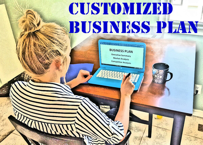 Write you a customized business plan, with financials, in 4 days.