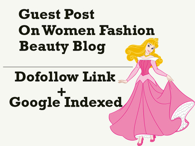 Publish guest post on Women Fashion and Beauty blog