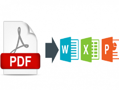 Convert your PDF to word, Excel,Power Point, Jpg, html upto 100 pages