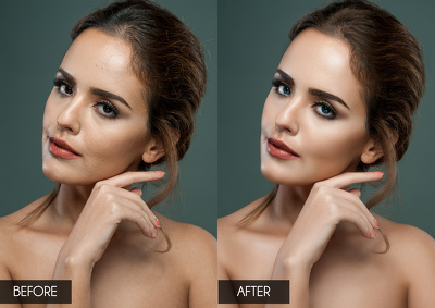 Retouch your portraits to look more stunning and natural in a professional way.