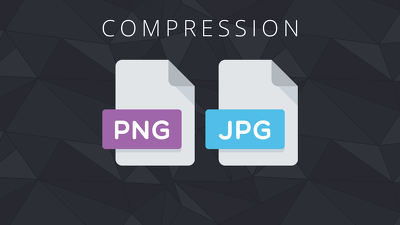Compress up to 25 PNG/JPG images without loss of quality
