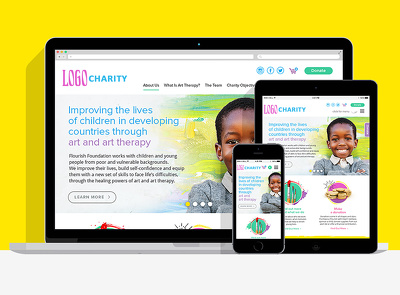 Design Responsive Webpage with HTML5, CSS3 using Bootstrap3 - CHARITY