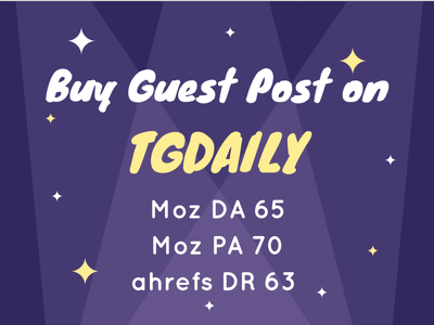 Publish a guest post on TG Daily - TGDaily.com - DA68