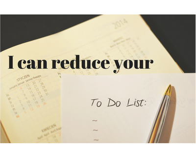 Reduce your 'to-do' list with exceptional virtual assistance for a min. of 1 hour