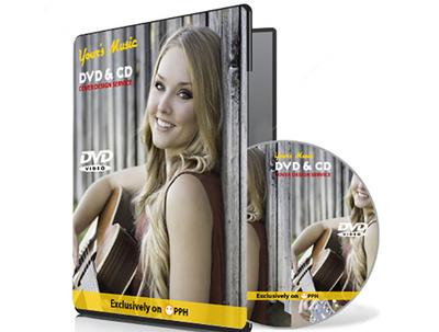 Create unique DVD/CD cover design in 5 hours with unlimited revisions