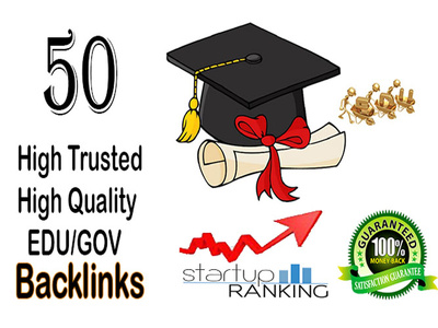 Do 50 EDU/GOV Backlinks for ranking high in search engine