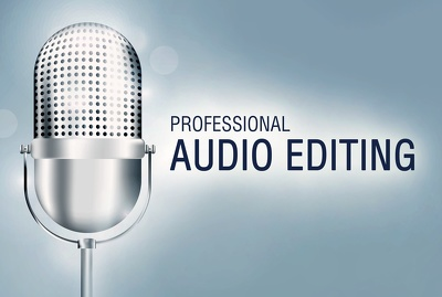 Professionally edit and improve your audio