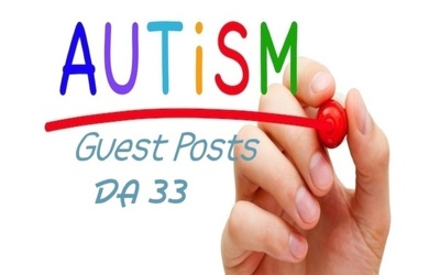 Publish A Guest Post In Autism Blog, DA 32